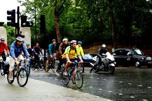 cyclists-london