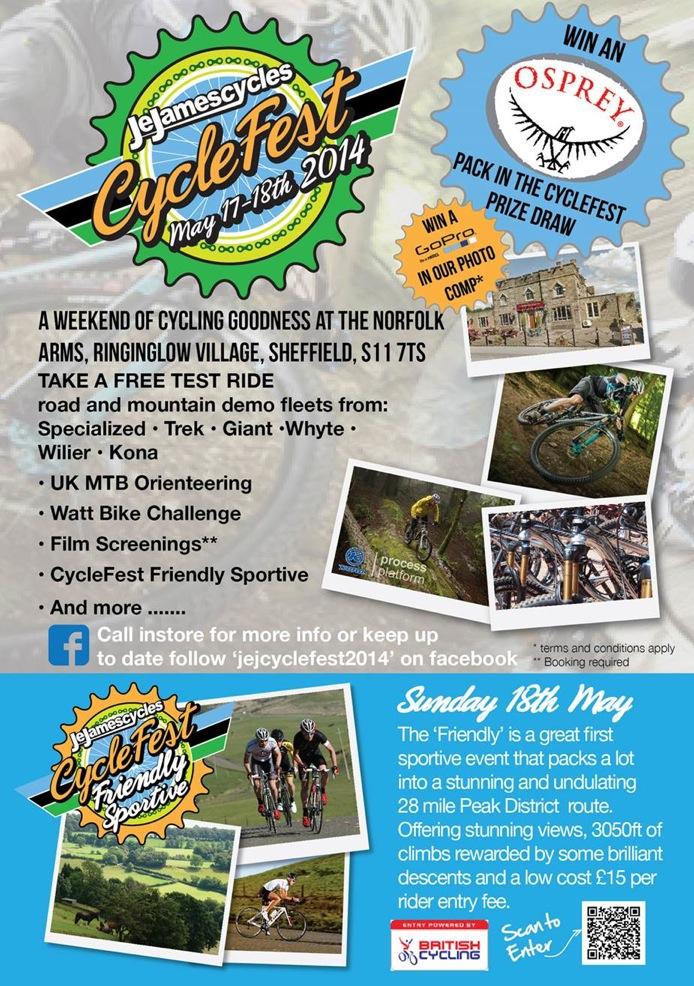 J E James Cyclefest