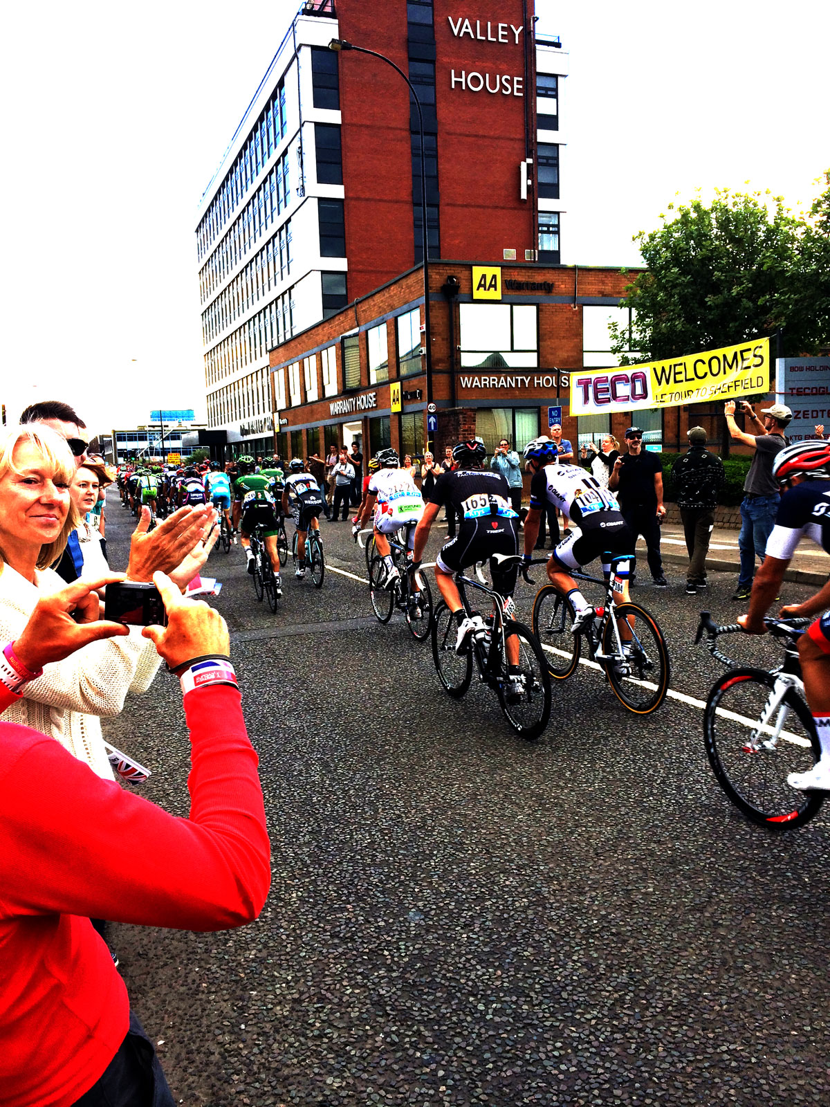 Tour de France Cycling Sheffield 19