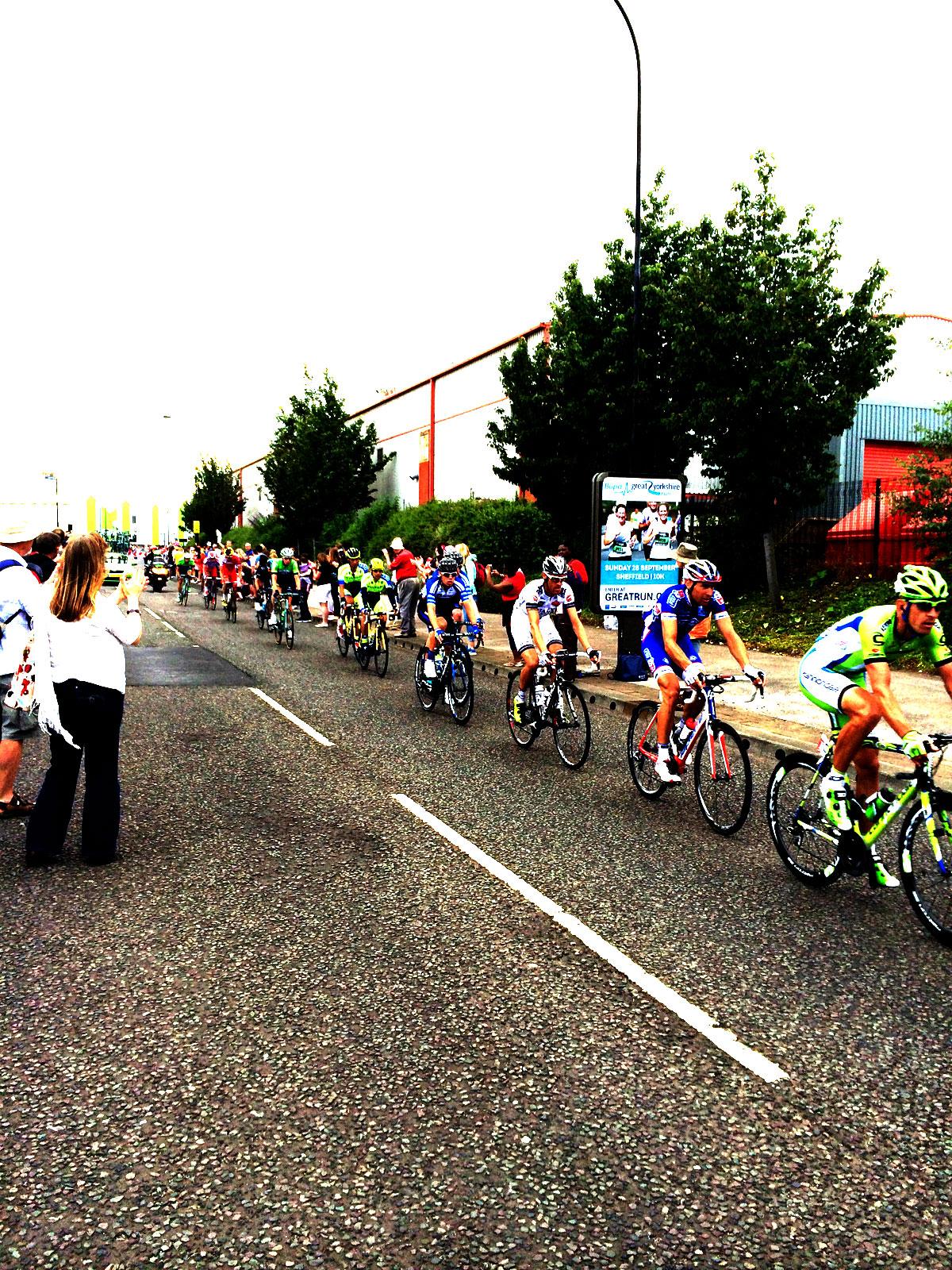 Tour de France Cycling Sheffield 31