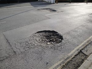 In total, 943,000 potholes are to be fixed across England over the next year.